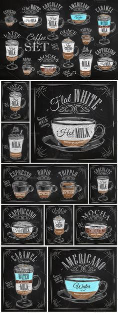 Great ways to make authentic Italian coffee and understand the Italian culture of espresso cappuccino and more! I Love Coffee, But First Coffee, Coffee Art, Coffee Break, My Coffee, Coffee Cups, Coffee Menu, Coffee Barista, Coffee Shop Names