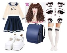 """Back to school"" by wk-eleonora ❤ liked on Polyvore featuring school, japan and seifuku"