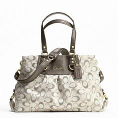 OMG I LOVE this bag!!! Goes great with any outfit!   To buy..to buy... to buy... Coach.
