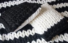 Chunky knit duck feather cushion pad, chunky pillow, cushion pad, 100% merino wool, pillow, cushion, chunky knitted pillow, throw pillow by SaintWools on Etsy https://www.etsy.com/uk/listing/474418617/chunky-knit-duck-feather-cushion-pad