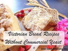 Victorian bread recipes without commercial yeast and sourdough starter - you don't need commercial yeast to bake a loaf of bread! In the Victorian era it was quite common to make yeast substitutes at home. 8 recipes for homemade yeast: hop yeast, fruit yeast, grape must yeast, pea yeast, bark yeast & salt rising bread. Salt Rising Bread, Victorian Era, Victorian Recipes, Commercial, Food Photo, Pain, Group, Bread Recipes, Beautiful