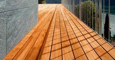 terrasse bois panoramique pour jardin