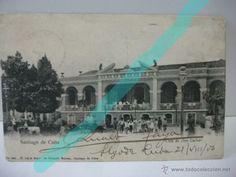 santiago de Cuba. antigua postal circulada en 1906 (Postales - Postales Extranjero - América - Cuba)