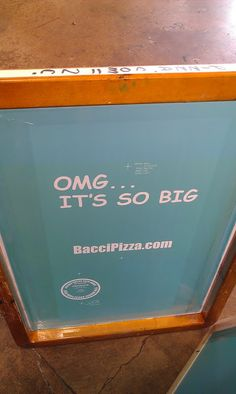 I wonder if It's really that big, I'll have to go check it out!