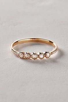 Rosecut Diamond Ring in 14k Gold - #anthrofave