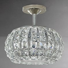 Buy John Lewis Venus Ceiling Light, Crystal and Chrome Online at johnlewis.com