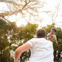 Beeeemmm alto mesmo!  #brincadeiras #instakids #love #brincarcompapai
