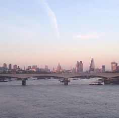 Go for a walk along London's Southbank and cross a bridge to get an amazing view any time of day.