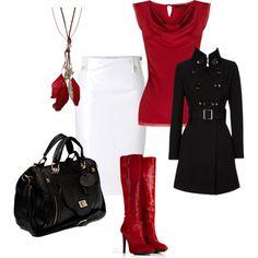 Rojo .. negro y el blanco!!