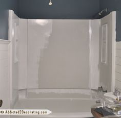 How To Paint A Bathtub And Tub Surround ~ With optimal health often comes clarity of thought. Click now to visit my blog for your free fitness solutions!