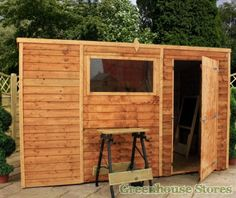 Cotswold Overlap 10x6 Pent Shed  http://www.greenhousestores.co.uk/Cotswold-Overlap-10x6-Pent-Shed.htm