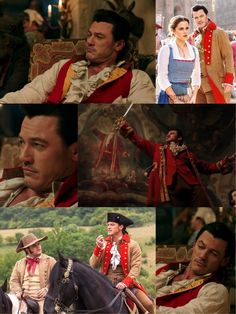 Luke Evans as Gaston Beauty and the Beast 2017