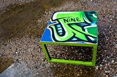 have you seen our new items? graffiti table by fosterweld and cosmic nine - perfect urban office furniture