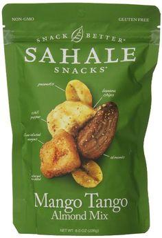 Sahale Snacks Nut Blends Almond Mix, Mango Tango, 8 Ounce