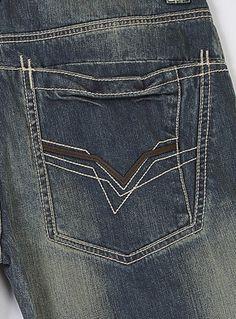 512LP1 - Pelle Pelle Horseshoe Jean