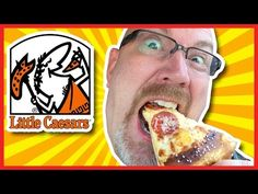 Little Caesars Hot N' Ready 3 Meat Treat, Pepperoni, Sausage and Bacon - YouTube