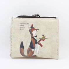 Cheap wallet cell phone holder, Buy Quality wallet gift card holder directly from China wallet small Suppliers: Small Double Zippper  Purse Cartoon Women Wallet Short Wallets Carteras Mujer Credit Card Holder