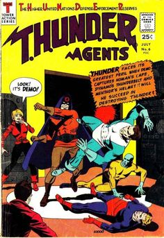 On this episode, Jeff and I discuss THUNDER Agents #6,9. ATTN. LISTENERS: Please subscribe, Rate & review us on either iTunes or Stitcher. and Don't forget to tell your friends about this show!...