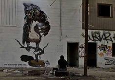 Artist : Never street artist