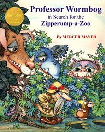 Professor Wormbog in Search for the Zipperump-a-Zoo (Classic Collectible Series) by Mercer Mayer I Love Books, Used Books, Mercer Mayer, Book Writer, Vintage Children's Books, Children's Book Illustration, Book Illustrations, Professor, Childrens Books