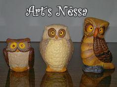 Art's Nêssa - Artesanato: Corujas