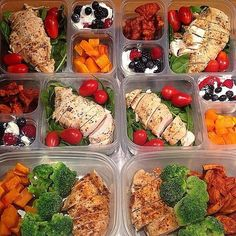 Lots Of Neat Brown Bag Lunch Ideas In One Picture Meal Prep Grocery List