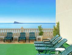 hotel en la playa de Poniente para familias