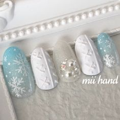 Cute Christmas Nails, Xmas Nails, Christmas Nail Art Designs, Holiday Nails, Pretty Nail Art, Cute Nail Art, Gel Nail Art, Nail Art Designs Videos, Simple Nail Art Designs