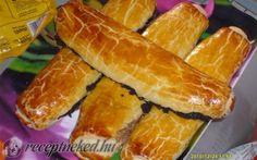 receptneked.hu Hot Dog Buns, Hot Dogs, Bread, Recipes, Dios, Hungary, Brot, Recipies, Baking