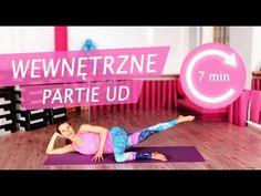 Spal WEWNĘTRZNE UDA 🔥 - w 7 minut ⏱ - YouTube Yoga Fitness, Health Fitness, Fitness Planner, Fitness Inspiration, Pilates, Toy Chest, Wellness, Exercise, Gym
