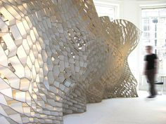 Honeycomb Morphologies - architectural experiments with the honeycomb shape by Andrew Kudless.