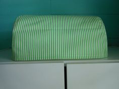 Green Stripe Gemini, Junior Cover, Handmade, cozies