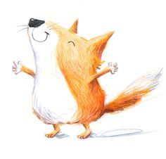 Happy Little Fox - Alison Brown