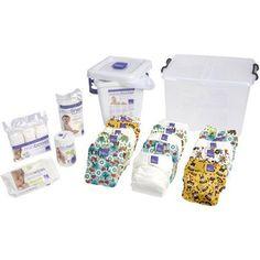 Bambino Mio Miosolo Premium Birth to Potty Pack, (Choose Your Color)