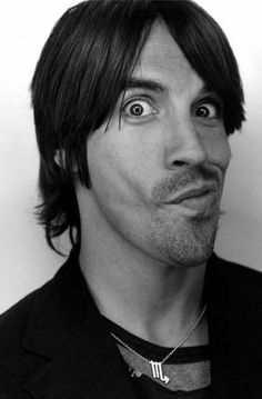 Anthony Kiedis, goofy and adorable. If I could have a sit down with the man of RHCP..