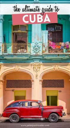 The Ultimate Guide to Cuba. Are you looking for Cuba travel tips and advice? Want some insider advice for traveling there before you board the plane? Here is everything you need to know about Cuba before you travel there. What to Pack for Cuba | What to do in Cuba | Cuba Travel Tips | What to Expect in Cuba | Cuba Travel Guide #cuba Travel Guides, Travel Tips, Travel Destinations, Travel Plan, Travel Goals, Budget Travel, Cienfuegos, Varadero, Vinales