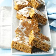 Lebkuchen Recipe from Taste of Home -- shared by Esther Kempker of Jefferson City, Missouri   #Oktoberfest