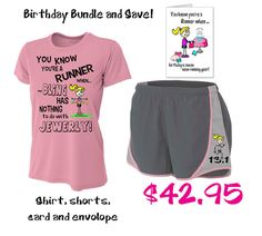 Gift For A Runner Its Her Birthday Make Happy Besides Running Getting Gear Always