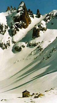 8 refugios de monta�a en Bariloche