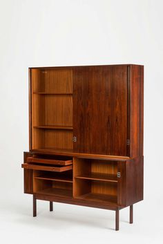 Two Rosewood Bookcases by Arne Vodder for Sibast | 1stdibs.com