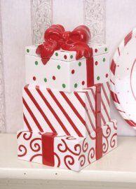 Christmas Gift cookie jar