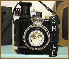 Altered vintage camera