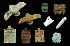 Small amulets, Egypt