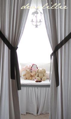 #baby #room #nursery #white #brown #wood #cute #elegant #decor #pastel #shabby #lux #baby girl #window
