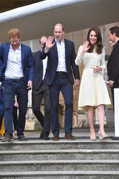 800 children attended the Party at the Palace event, where the sprawling garden was transformed into an open-air festival for the guests. Nina Conti and Lance Corporal Richard Jones attended.