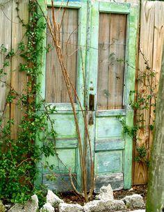 Shabby Chic door.