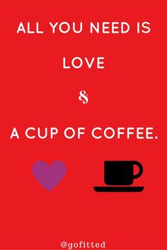 Love, coffee and benefits... #coffe #love