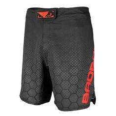 Bad Boy Legacy III Fight Shorts - Blk/Red