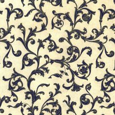 Rossi Italian Traditional Tuscan Paper - Midnight Blue and Gold Leaves and Scrolls. via Etsy. Paper Background, Background Patterns, Pattern Design, Pattern Ideas, Print Design, Italian Pattern, Blue Leaves, Paper Hearts, Vintage Frames