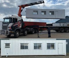 Topshell Container manufacture mobile walk-through testing units for @ South Africa. Storage Rental, Container Conversions, Cheap Storage, Self Storage, Hospitals, Storage Solutions, South Africa, Medical, The Unit